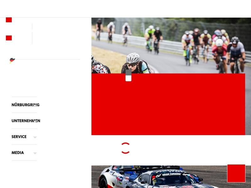 Screenshot von www.nuerburgring.de